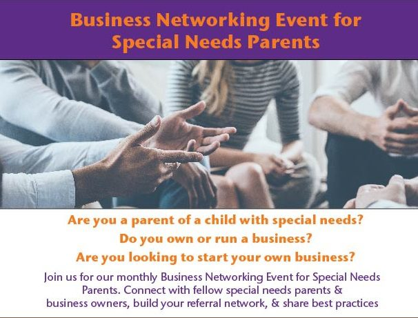 Business Networking Group for Special Needs Parents